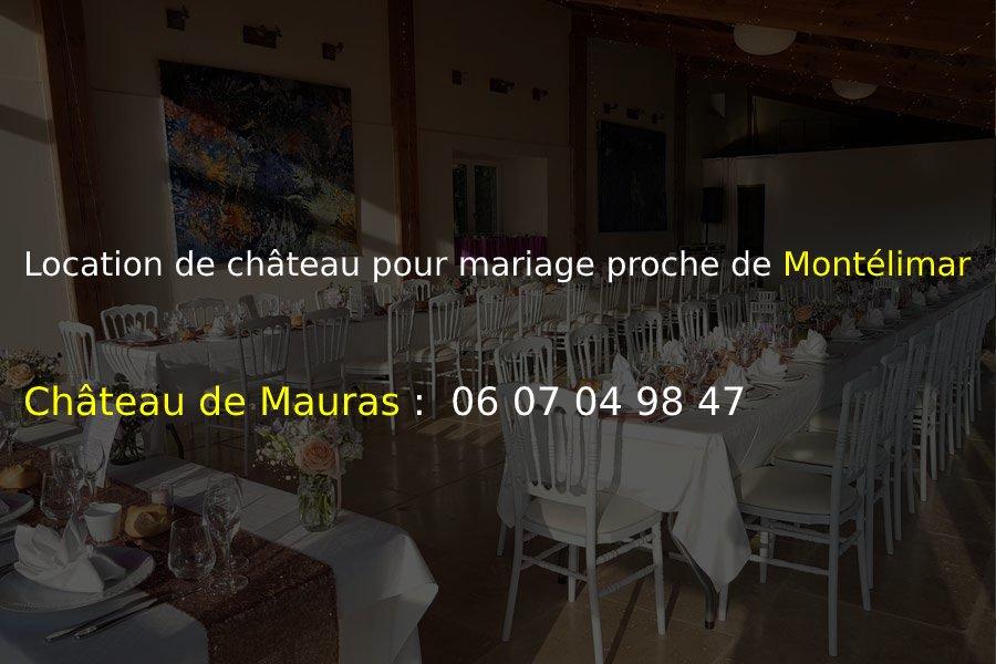chateau Mauras_Location de château pour mariage proche de Montélimar